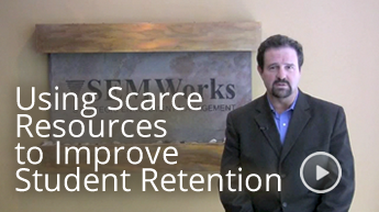 Using Scarce Resources to Improve Student Retention